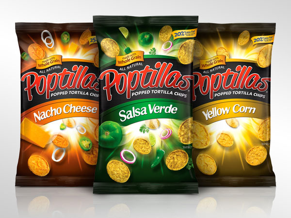 Poptillas - Popped Tortilla Chips by David Robles