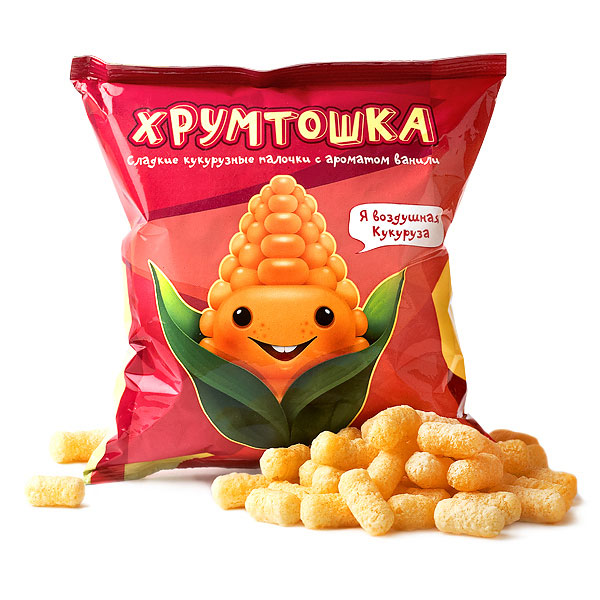 Design of Chips and Corn package by Alexey Tishkin