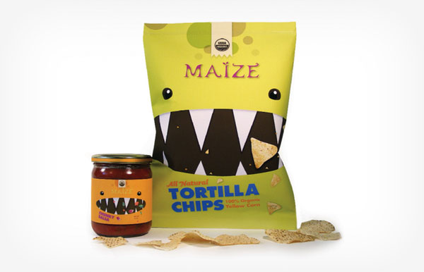 Maize Tortilla Chips & Salsa by Jeanelle Mak