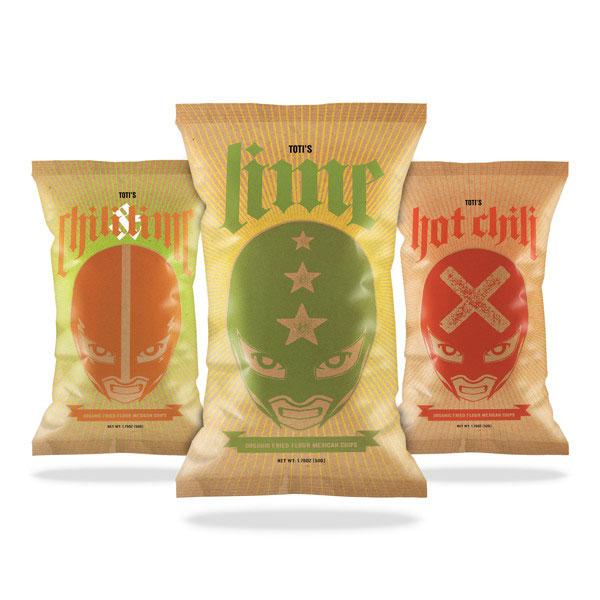 Toti's Organic Luchador Chips by David Osborne