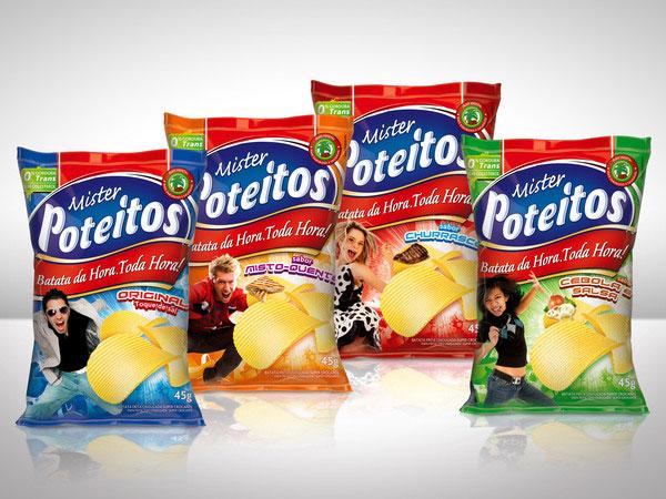Potato Chips Mr. Poteitos by Rodrigo Lima