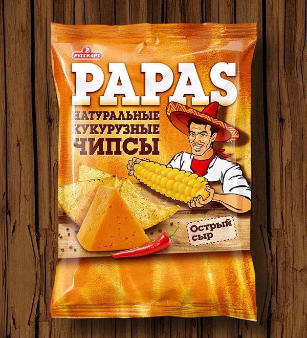 """Tortilla Chips """"Papas"""" by Mygema"""