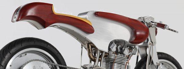 Motocicleta elegante